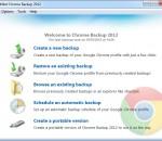 zebNet Chrome Backup 2012 3.4.20