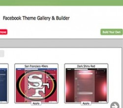 Facebook Theme Creator - Google Chrome
