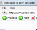 Web Page To BMP Converter 4.1
