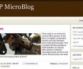 ApPHP MicroBlog Personal PHP Web Blog 3.3.0