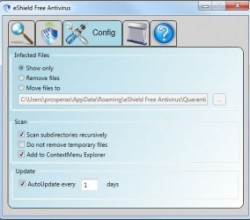 eShield Free Antivirus 1.4.0