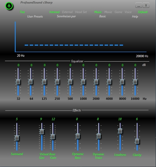 Equalizer apo is a parametric / graphic equalizer for windows