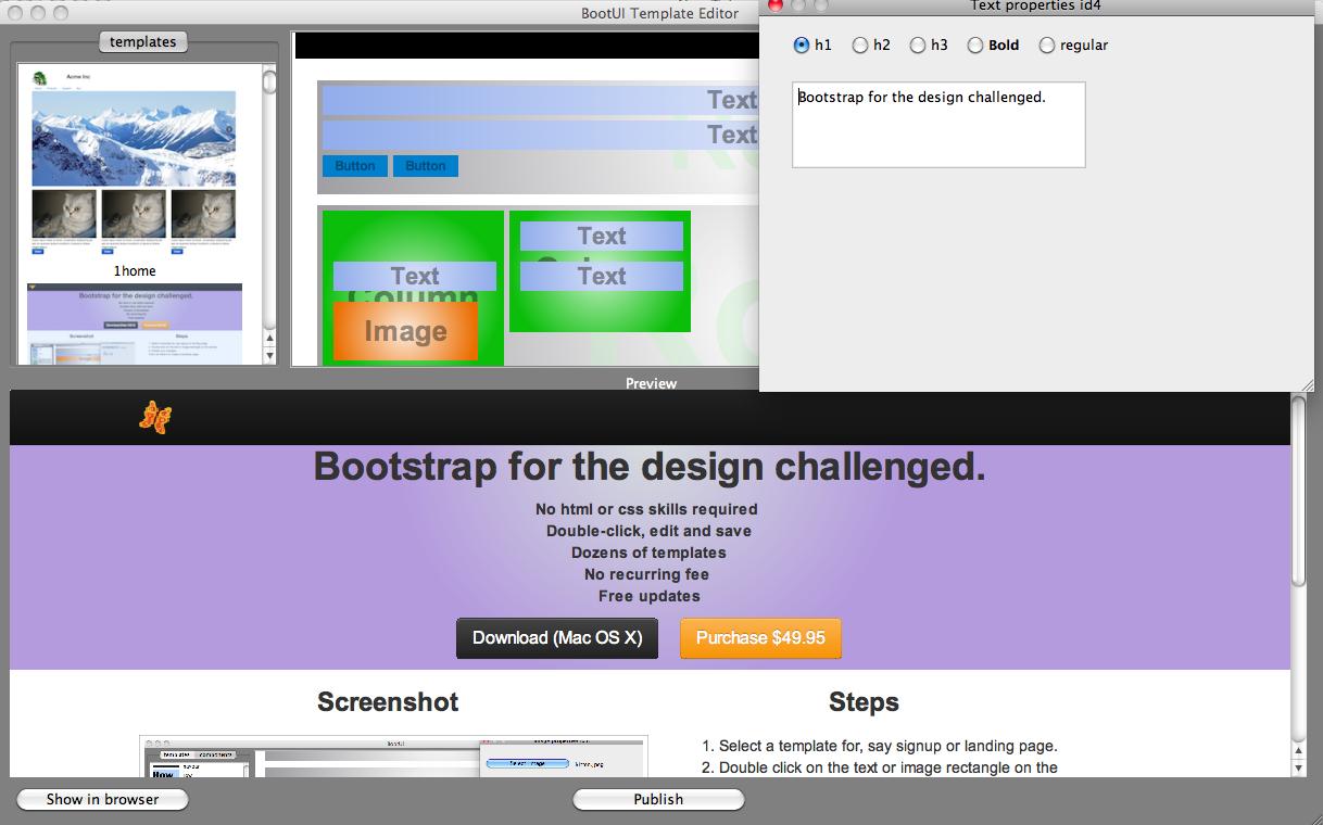 Wonderful Bootstrap Template Editor Ideas - Example Resume Ideas ...
