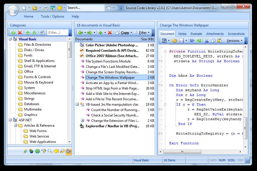 VB NET Code Library 2 1 0 212 - تحميل تنزيل مجانا