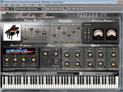 logiciel piano santi yamaha gratuit