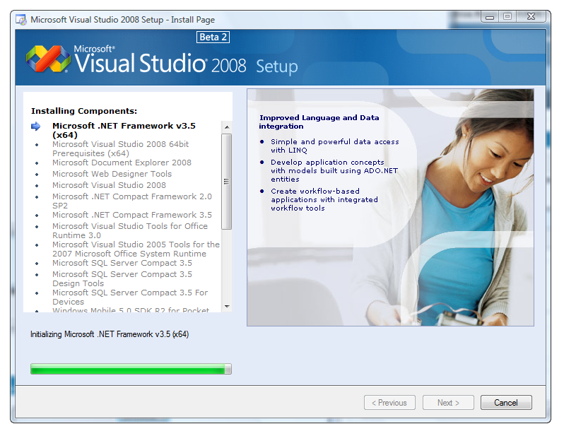 Microsoft visual c 2008 x86. Скачать.