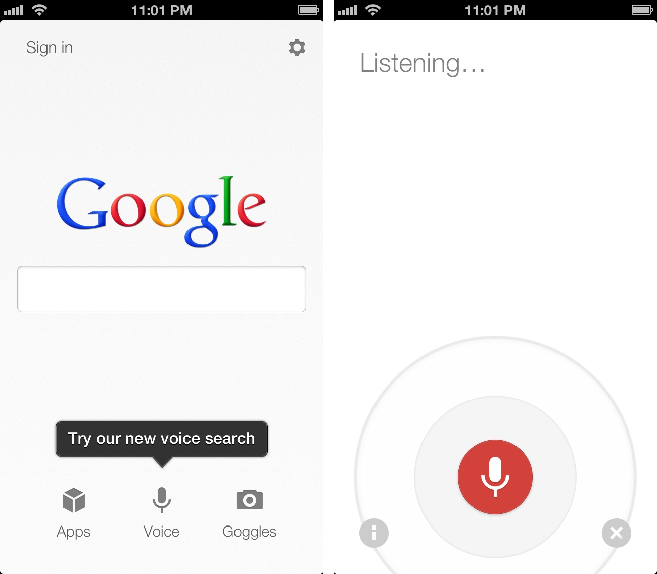 Voice Search Android Скачать