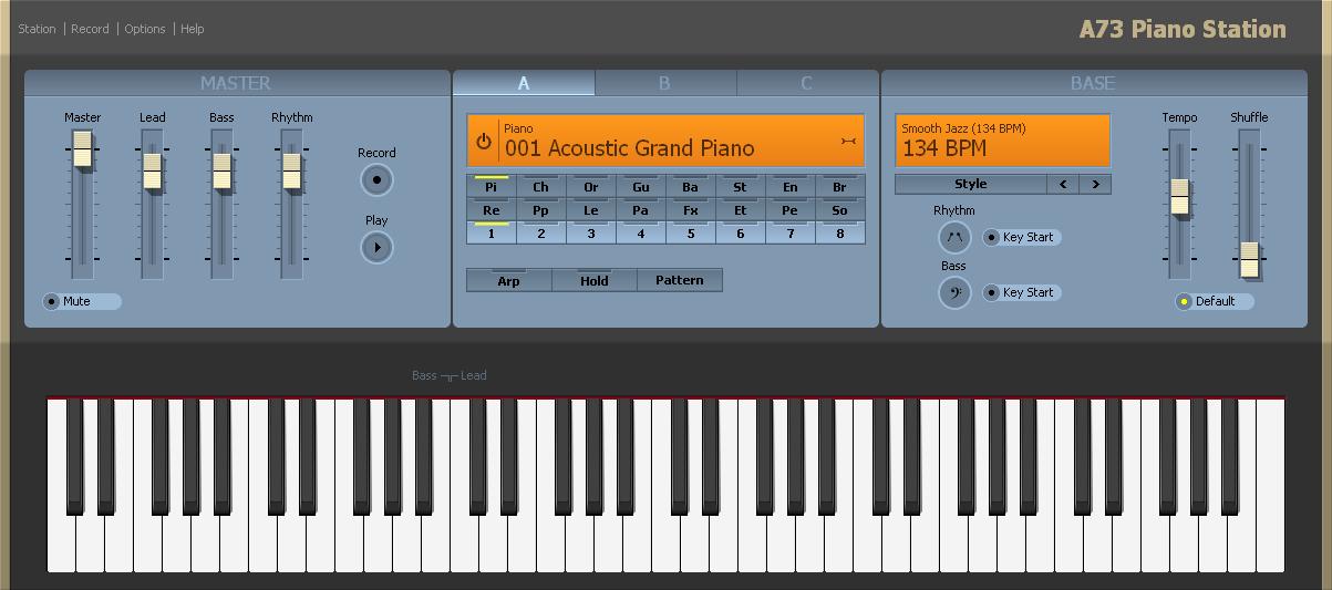 Скачать программу на пк пианино