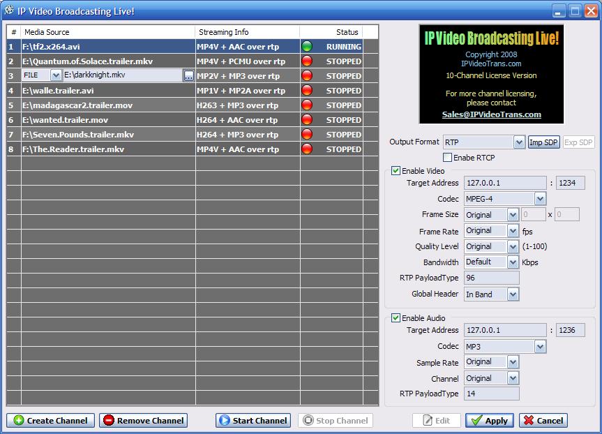 ProMedia Live Video Transcoder Harmonic Inc